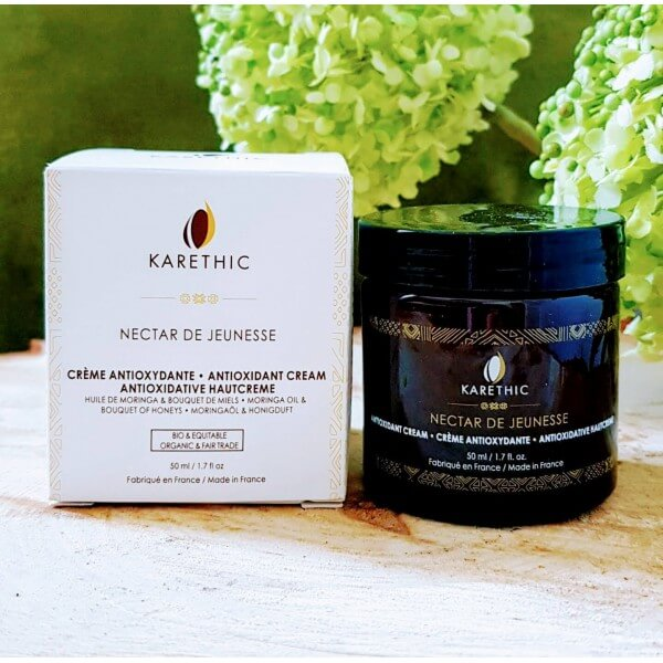 Crème éclat antioxydante anti-âge: Karethic