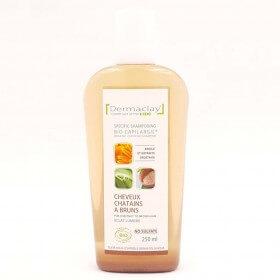 Shampoing Bio pour cheveux Châtains à Bruns