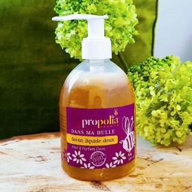 Savon liquide mains doux au miel bio
