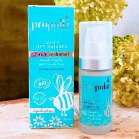 Sérum hydratant hypoallergénique peau sensible bio