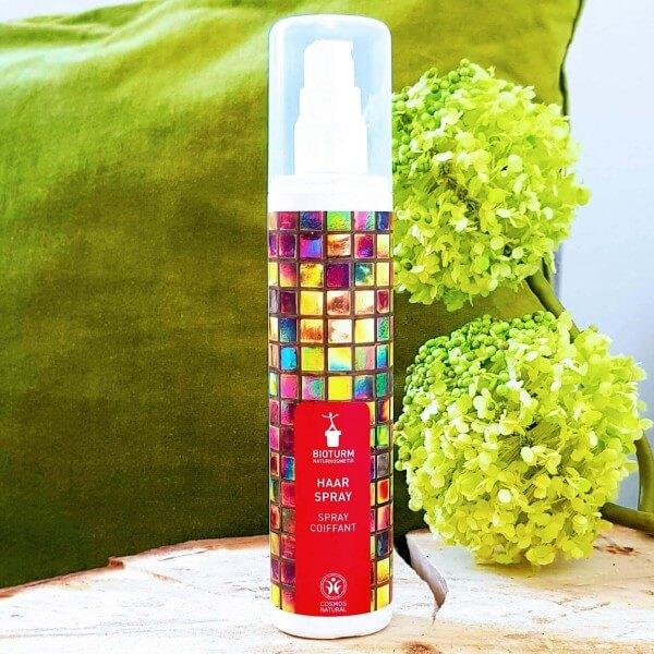 Spray coiffant longue durée: BIOTURM