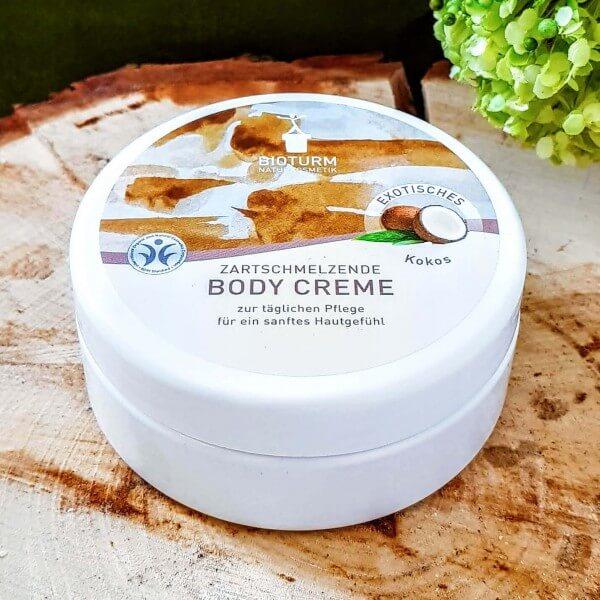 Crème corps noix de coco : BIOTURM