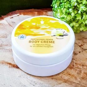 Crème bio corps hydratant vanille
