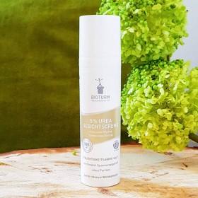 Crème visage bio 5% urée intensif peau sèche