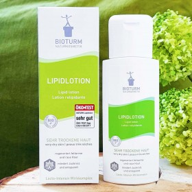 Lotion Relipidante, crème pour peau très sèche : BIOTURM
