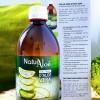 Gel frais d'aloé vera à boire naturel