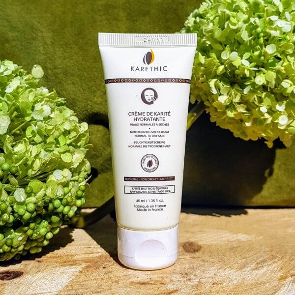 Crème bio hydratante karité peaux normales à sèches