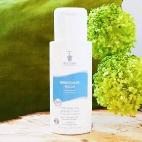 Lait nettoyant bio peau sèche et sensible
