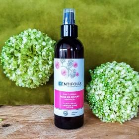 Eau florale Rose de Damas pour rafraîchir et purifier le teint bio