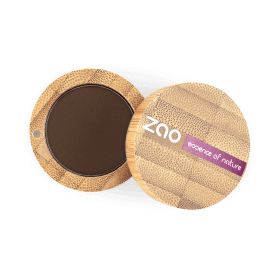 Ombre à paupières mate bio brun foncé N° 203