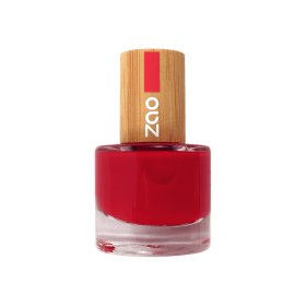 vernis à ongles bio rouge