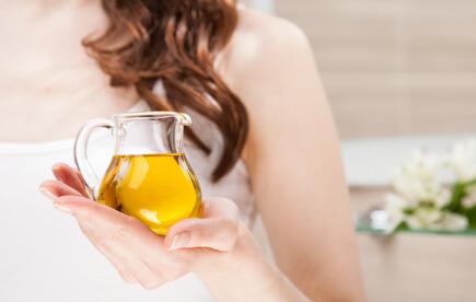 huile bio pour cheveux