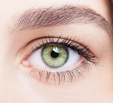 contour de l'oeil sensible